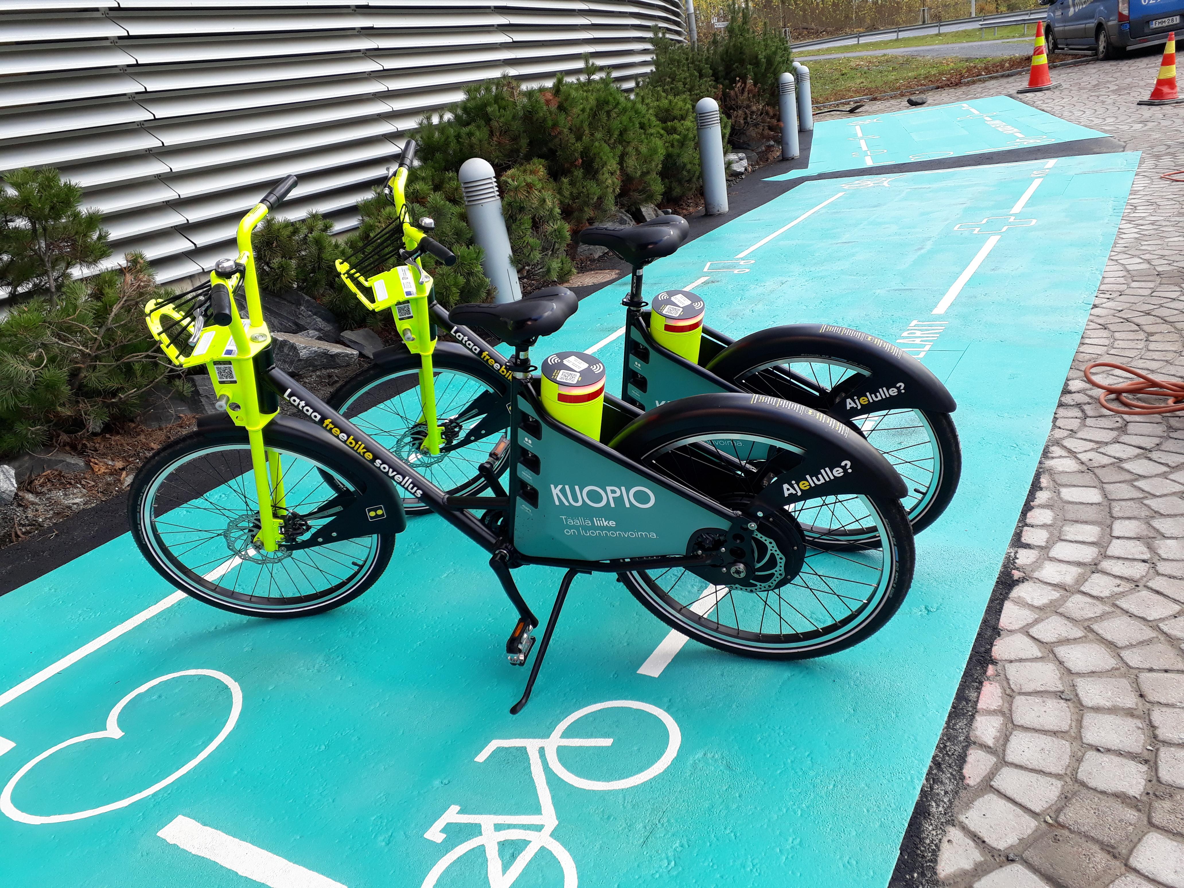 Kaupunkipyörällä hurautat nopeasti Bellanpuistoon